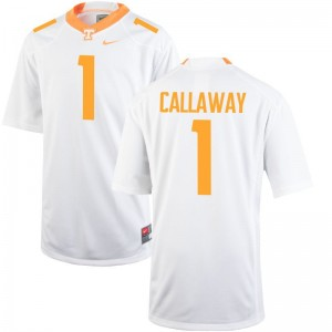 Marquez Callaway Vols Jersey Mens Large Men Limited - White