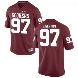 Marquise Overton Mens Jerseys Men XXXL Limited Sooners Crimson