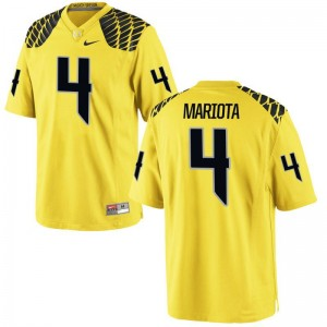 Men Small Oregon Ducks Matt Mariota Jerseys Mens Limited Gold Jerseys