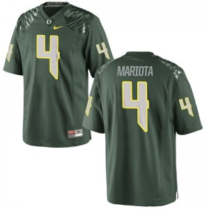 Men Limited Official Ducks Jerseys Matt Mariota Green Jerseys