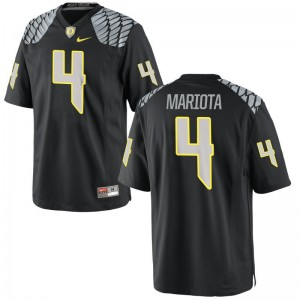 Matt Mariota Kids Ducks Jerseys Black Limited Stitch Jerseys