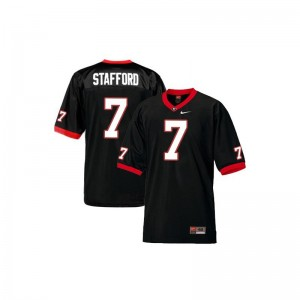 For Kids Limited UGA Bulldogs Jersey Youth Small of Matthew Stafford - Black