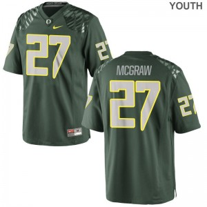 University of Oregon Mattrell McGraw Limited Youth Jersey Youth XL - Green
