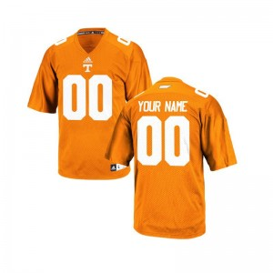 Limited Customized Jersey Mens Small Tennessee For Men - Orange