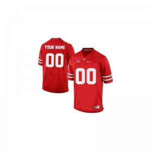Limited Customized Jersey 3XL Ohio State Red For Men