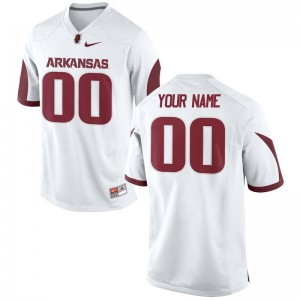 Razorbacks Customized Jerseys Mens XXXL Men Limited White