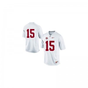 Alabama JK Scott Limited For Men Jersey Men Small - #15 White