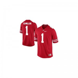 S-3XL Ohio State Braxton Miller Jerseys For Men Limited #1 Red Jerseys