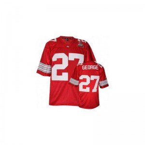 Limited OSU Eddie George For Men #27 Red Jerseys