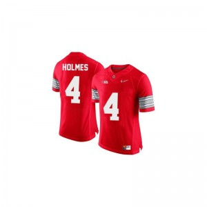 Santonio Holmes Men Jerseys OSU Limited - #4 Red Diamond Quest Patch