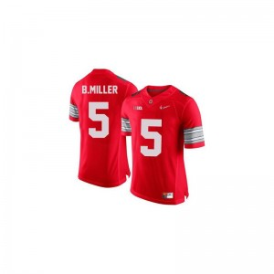 Ohio State Braxton Miller Mens Limited Jerseys #5 Red Diamond Quest Patch