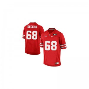 Limited For Men OSU Jerseys 3XL of Taylor Decker - #68 Red Diamond Quest 2015 Patch