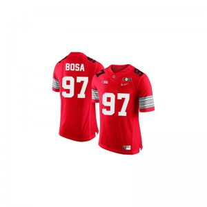 #97 Red Diamond Quest 2015 Patch Limited Joey Bosa Jerseys Large Mens Ohio State Buckeyes