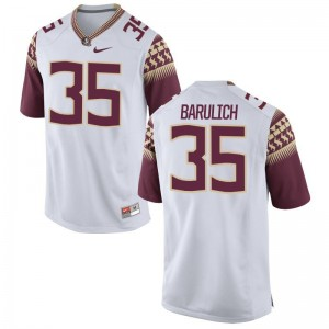 Michael Barulich Jersey Florida State White Limited Men Jersey