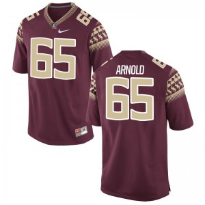 Seminoles Limited Mike Arnold Youth Jerseys Small - Garnet