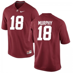 University of Alabama Montana Murphy For Men Limited Jersey Red