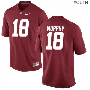 Alabama Crimson Tide Jersey Large Montana Murphy Limited For Kids - Red