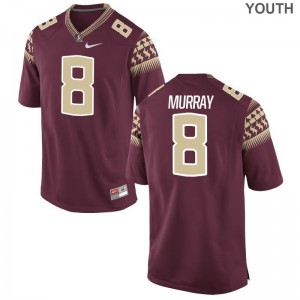 Kids Nyqwan Murray Jersey Youth XL FSU Seminoles Garnet Limited