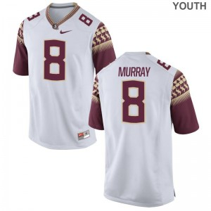 Nyqwan Murray Youth(Kids) Jersey X Large Limited Florida State - White