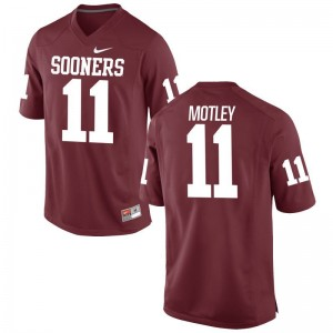 Men Parnell Motley Jersey College Crimson Limited OU Sooners Jersey