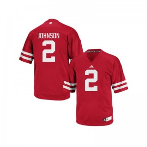 Wisconsin Jersey XX Large of Patrick Johnson Mens Authentic - Red