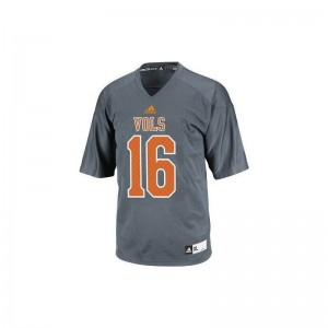 Youth Peyton Manning Jersey Youth Medium Tennessee Gray Limited