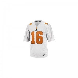 Peyton Manning Tennessee Jerseys Small Limited Youth Jerseys Small - White
