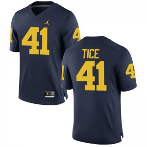 University of Michigan Ryan Tice Men Limited Jersey Jordan Navy