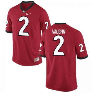 University of Georgia Sam Vaughn Jerseys Large For Kids Limited - Red