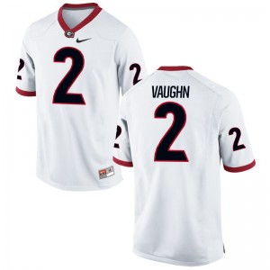 Sam Vaughn Kids Jersey Youth Small Limited Georgia - White