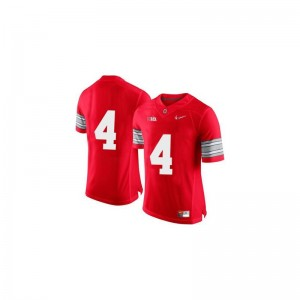 Santonio Holmes Jerseys Mens Small Ohio State Limited Mens - Red Diamond Quest Patch