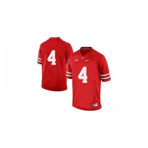 Santonio Holmes OSU Jersey For Men Limited Red Official