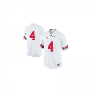 Limited Santonio Holmes Jerseys Mens XXL For Men Ohio State - White