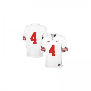 Ohio State Buckeyes Santonio Holmes Youth(Kids) Limited Jerseys White Diamond Quest Patch