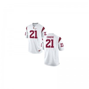 Limited Su'a Cravens Jersey Mens XXL USC White Mens