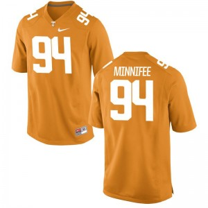 Vols Men Limited Orange TJ Minnifee Jerseys Men XXL