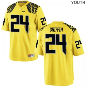 Taj Griffin UO Jersey XL Gold Limited For Kids