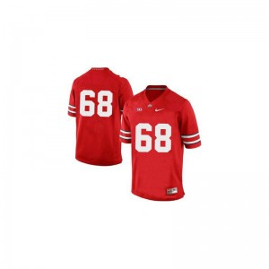 Youth Taylor Decker Jersey Stitched Red Limited Ohio State Jersey