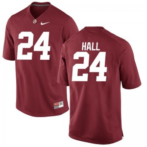 University of Alabama Terrell Hall Youth Limited Stitch Jersey Red