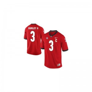 Todd Gurley Men Jerseys Limited Red Georgia