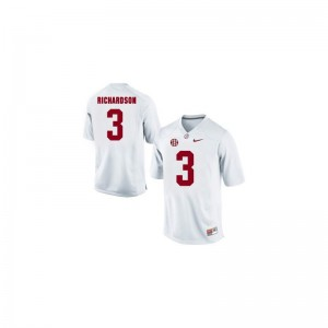 White Trent Richardson Jersey Youth Small Bama Limited For Kids