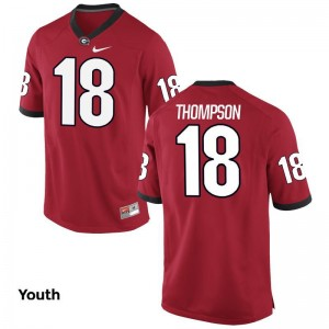 UGA Red Youth Limited Trenton Thompson Jersey Youth XL