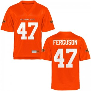 Small Oklahoma State Tyler Ferguson Jersey Men Limited Orange Jersey