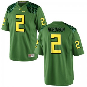 Tyree Robinson Ducks Jerseys Youth XL Limited For Kids Jerseys Youth XL - Apple Green