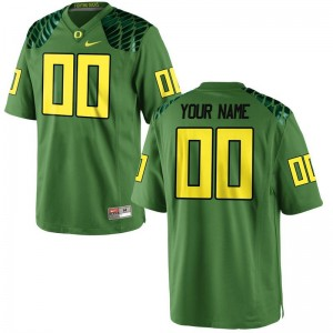 Kids Custom Jersey Youth Medium University of Oregon Limited Apple Green Alternate