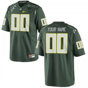 Oregon Ducks Kids Green Limited Custom Jersey Small