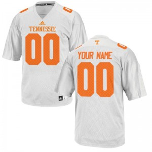 Vols Custom Jersey Youth XL Youth Limited - White