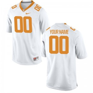 Limited Custom Jersey For Kids Tennessee White Custom Jersey