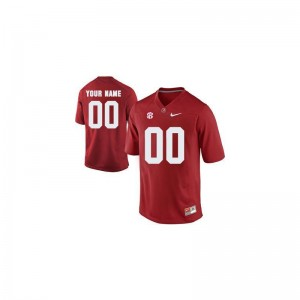 Alabama Crimson Tide Red Youth Limited Custom Jerseys Youth Large