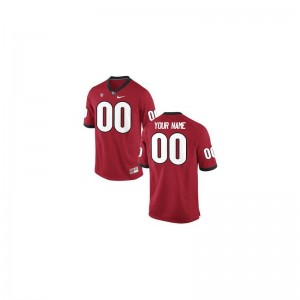 UGA Bulldogs Custom Jersey Youth XL Limited Red For Kids